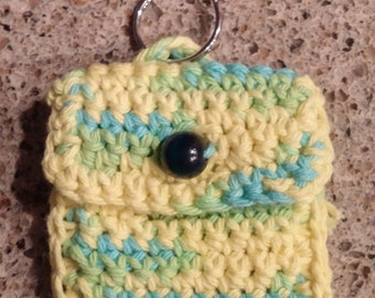 Keychain with change purse
