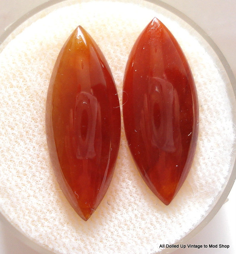 approx. 8x19.5mm RED JADEITE JADE Marquise Cabochon S A L E 75/% Off!!
