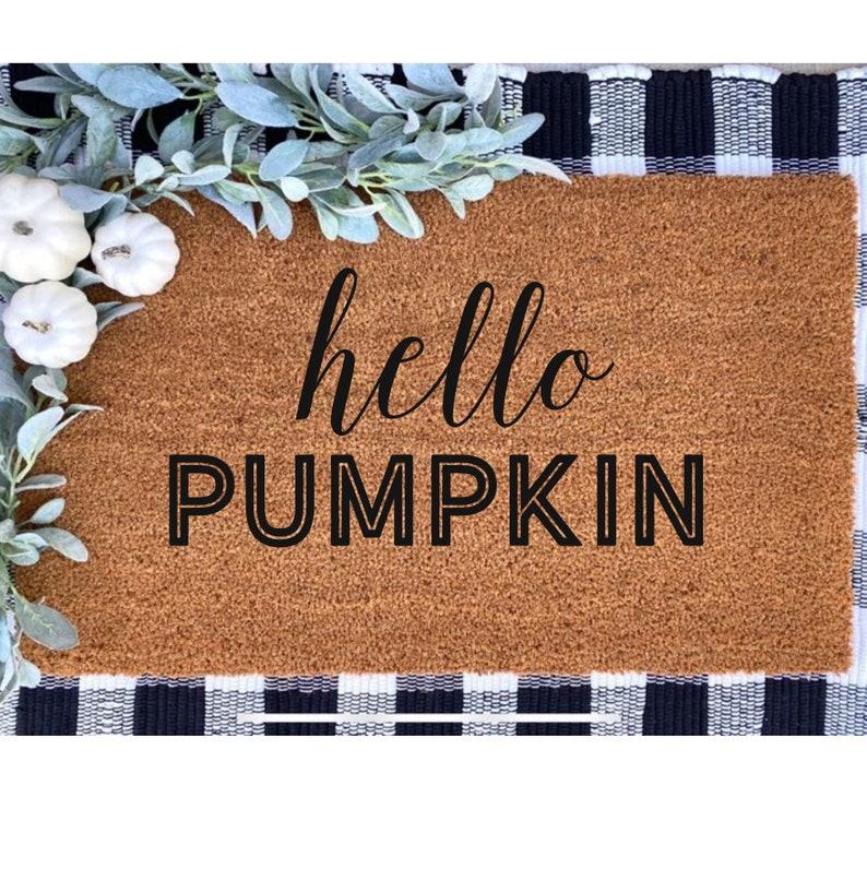Hello PumpkinDoormat image 0