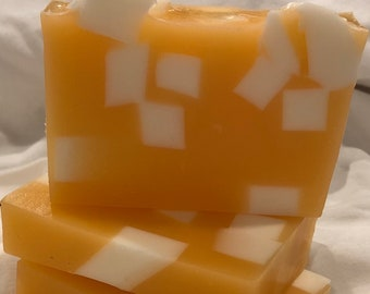 Satsuma Orange Honey and Goats Milk Soap