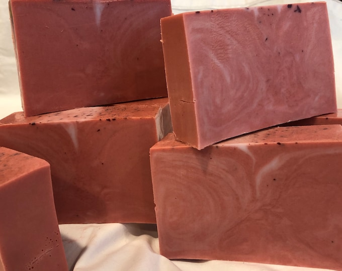Muscadine Wine Goats Milk Soap
