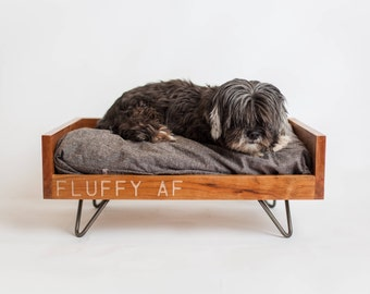 luxury dog bed furniture. Custom Dog Furniture | Raised Bed Washable Mid-Century  Luxury MCM Personalized Pet Luxury Dog Bed Furniture