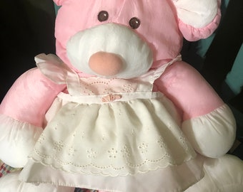 d3225640d83 Vintage Fisher Price puffalump pink mouse 1985