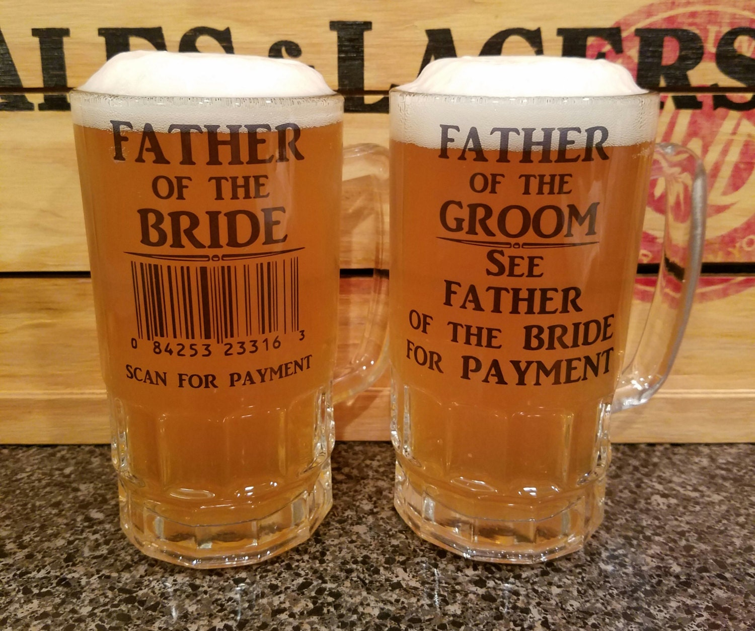 Wedding Gift For Dads Father Of The Bride Gift Father Of The