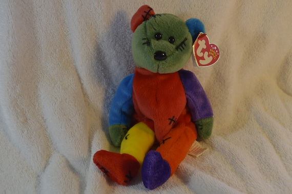 c37b0c29c5d FRANKENTEDDY TY Beanie Baby 2002