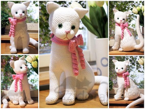 Ginger cat amigurumi pattern | Crochet cat pattern, Crochet ... | 428x570