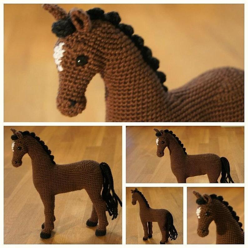 Pattern Hayley The Horse Crochet Horse Amigurumi Horse Etsy