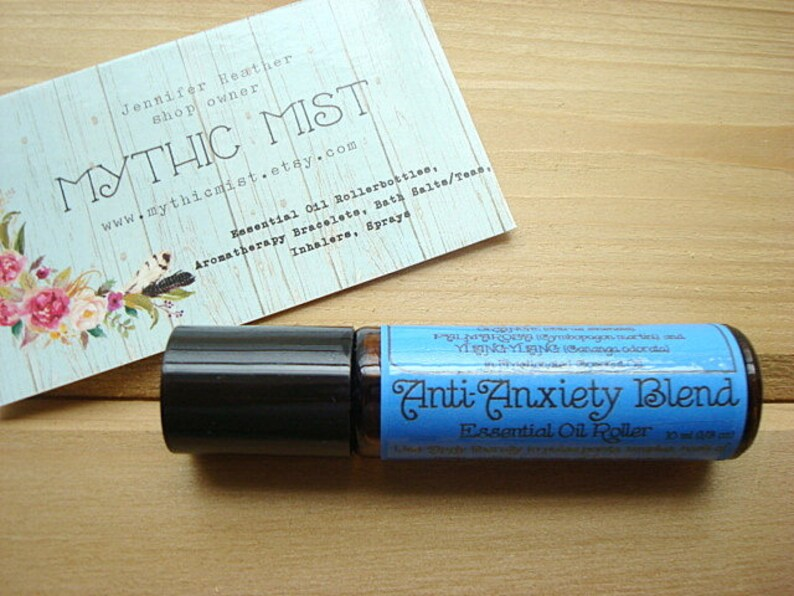 Unique Gift  ANXIETY Blend  Essential Oil  Anti-Anxiety image 0