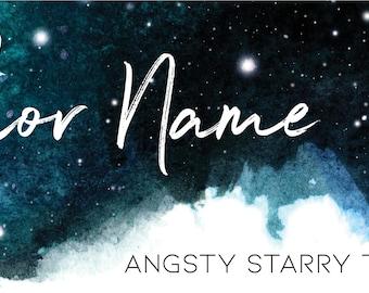 Angsty Starry Premade Branding