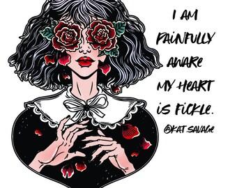 Mad Woman Sticker