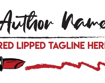 Red Lipped Premade Branding