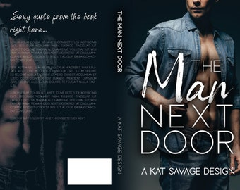 Premade Cover - The Man Next Door