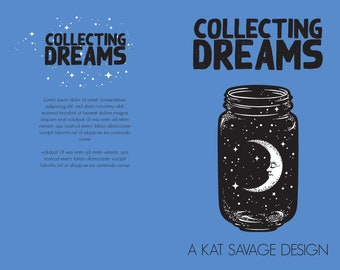 Premade Poetry Cover - Collecting Dreams