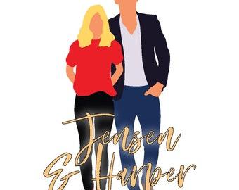 Jensen & Harper Sticker