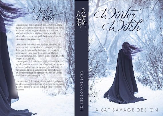 Premade Cover - Winter Witch