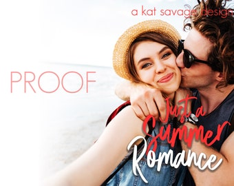 Premade Cover - Just a Summer Romance