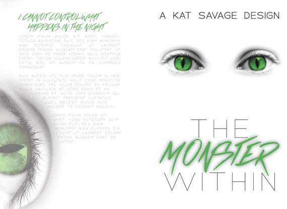 Premade Cover - The Monster Within