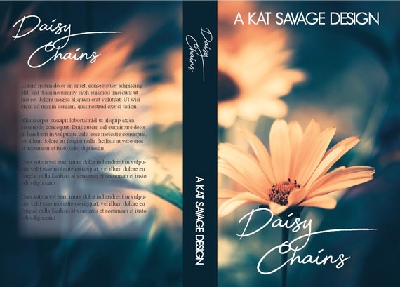 Premade Cover - Daisy Chains