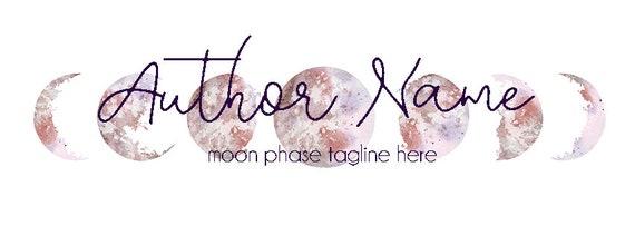 Moon Phase Premade Branding