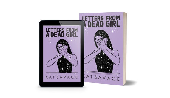 Letters From A Dead Girl - Signed Paperback PREORDER