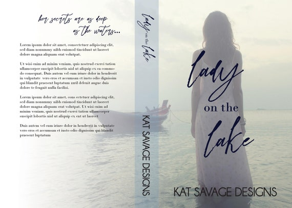Premade Cover - Lady on the Lake