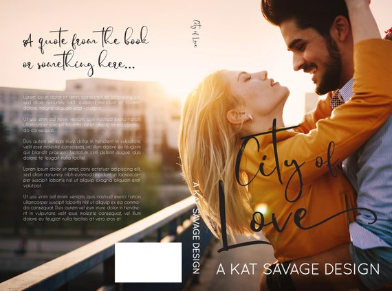 Premade Cover - City of Love