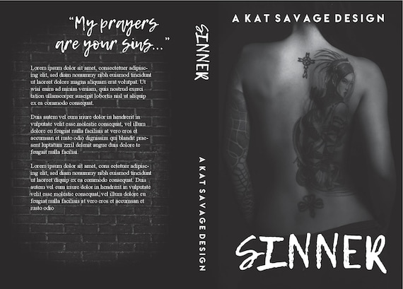 Premade Cover - Sinner