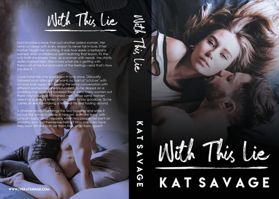 With This Lie - Signed Paperback