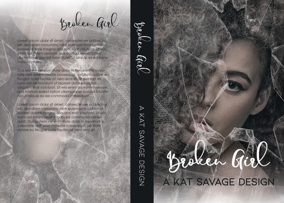 Premade Cover - Broken Girl
