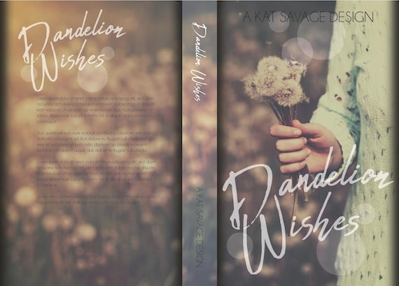 Premade Cover - Dandelion Wishes