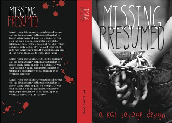Premade Cover - Missing Presumed