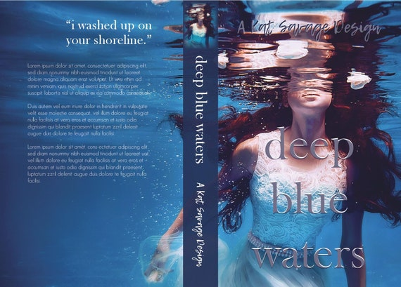 Premade Cover - Deep Blue Waters