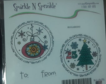 Sparkle /'n Sprinkle Gray Rubber Stamp Set 219 Frames /& Borders    50/% Off Until July 15th