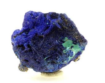 blue green aqua Chessylite pendant Azurite Malachite Chrysocolla brass bail 41ct