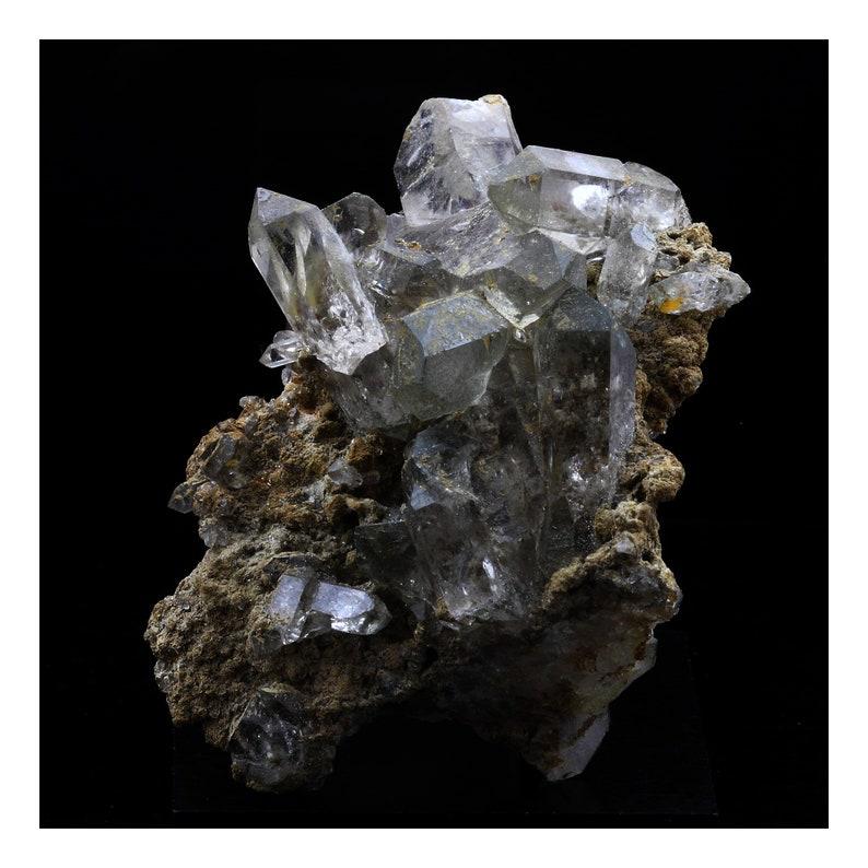 France. 471.0 ct Mont Blanc Massif Smoked quartz