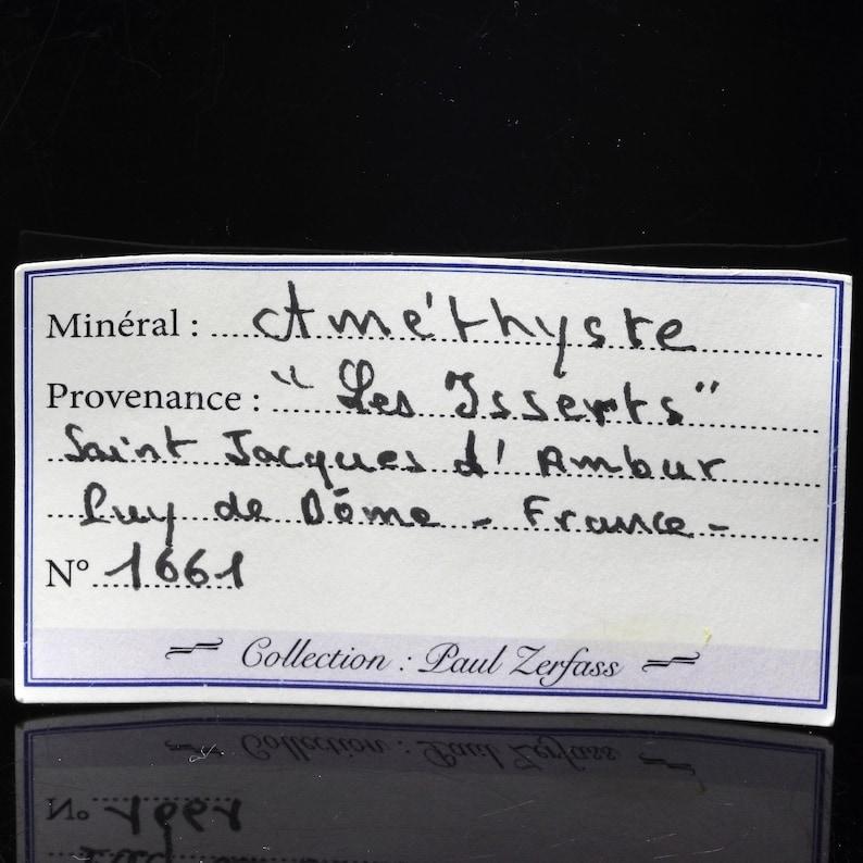 837.0 CT d/'ambur Puy-de-D\u00f4me France. Les Isserts Amethyst