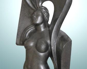 Skulptur Frau - Kunstobjekt