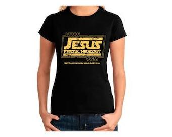 "Jesusfreakhideout.com ""Empire"" Logo - Womens Tee"