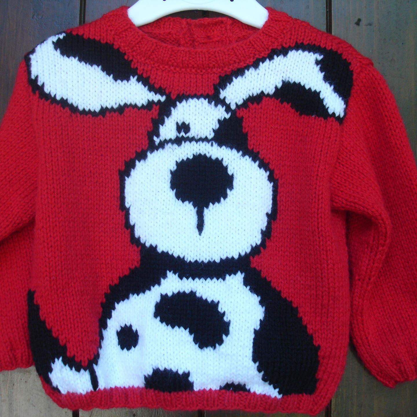 3a8acd552dee Sweater baby and children from 1 year to 6 years dog motif