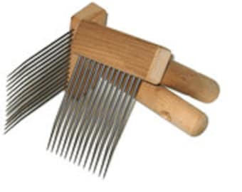 Fine Single Row Mini Combs for Wool (Valkyrie)