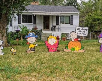 Charlie Brown Halloween Set - SHIPS IMMEDIATELY!