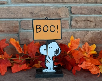 Boo Snoopy Tabletop Decoration