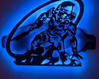 Halo LED Wall Art