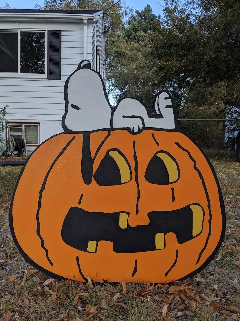 Pumpkin Snoopy  SHIPS IMMEDIATELY image 0