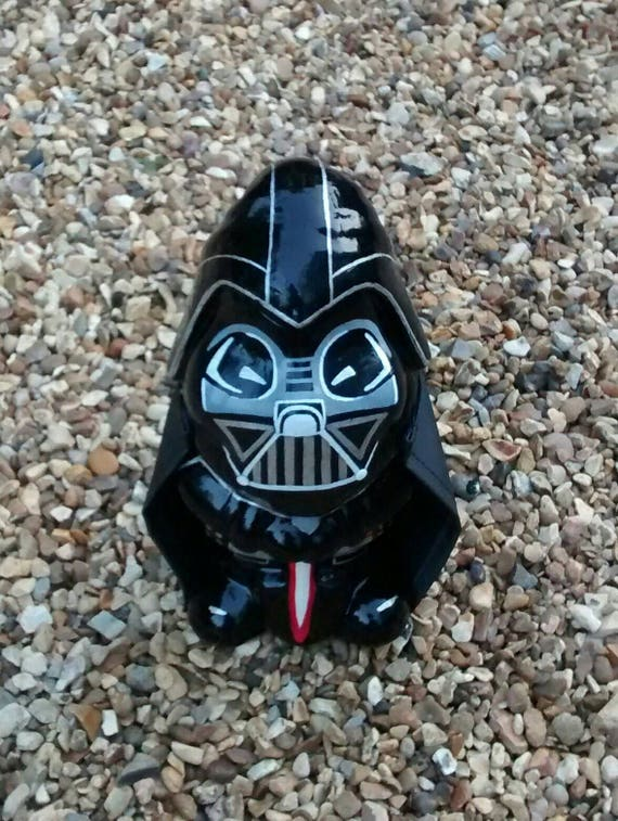 Custom Darth Vader style Star Wars jardin gnome peint à la main unique