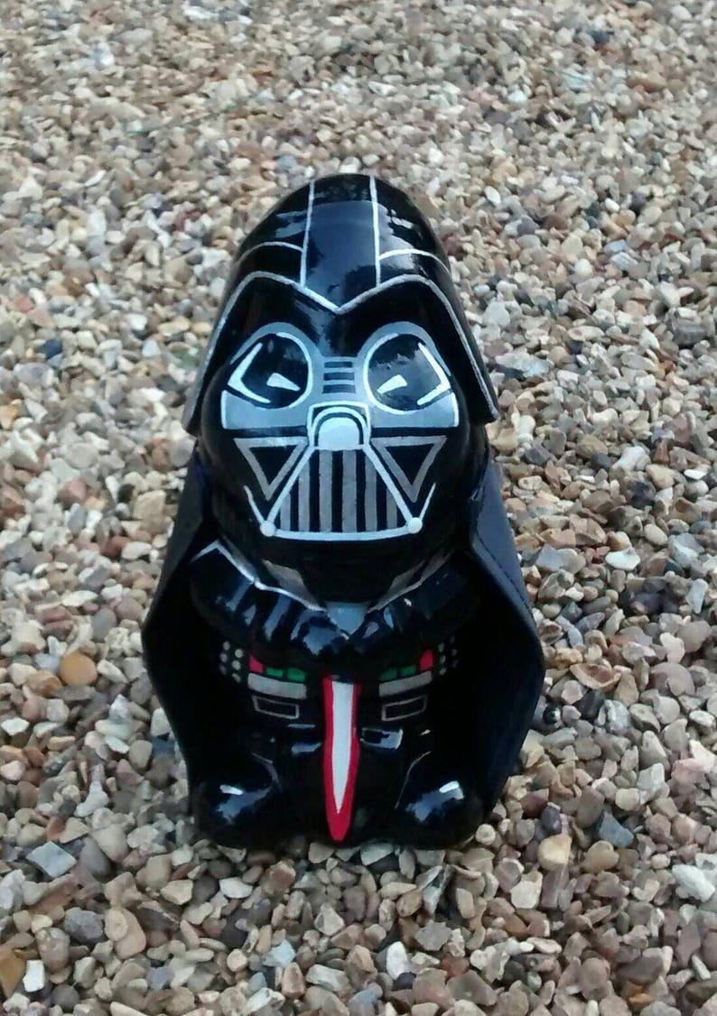 DARTH VADER Star Wars personnalisé unique peint à la main nain | Etsy