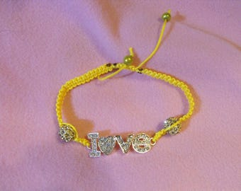 Shamballa love yellow