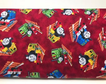 Thomas The Tank Engine Fabric - Who's That Train?