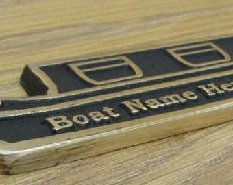 5562d5db2b9 Personalized Canal Narrowboat with your choice of text