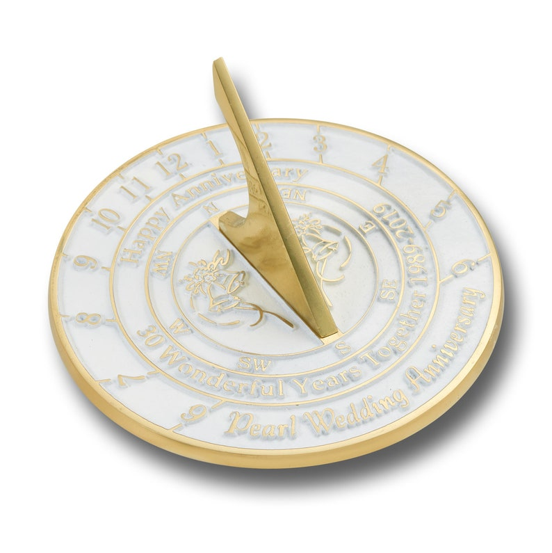 """/""""Love Is/"""" Wedding Anniversary Sundial Gift Idea Is A Great Present"""